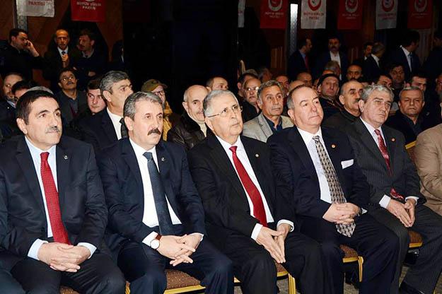 BBP Genel Başkanı Mustafa Destici Beykoz'dan iki mesaj gönderdi
