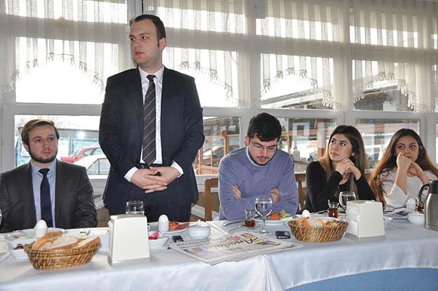 İBB Gençlik Başkanı Beykoz'da ağırlandı