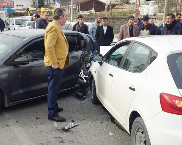 Beykoz Çavuşbaşı'nda alkol kazası... 4 yaralı