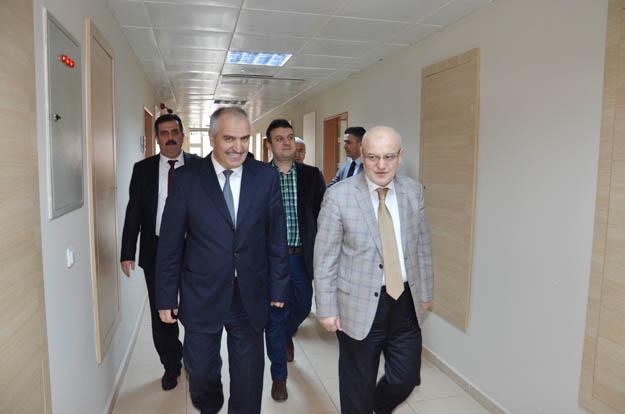 Başkan Çelikbilek'ten, Başhekim Erdoğdu'ya nezaket ziyareti