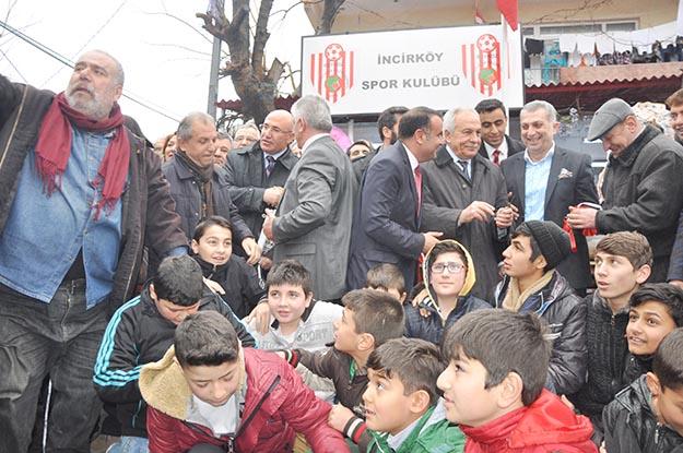 Beykoz İncirköy Spor Kulübü, görkemli bir şekilde açıldı