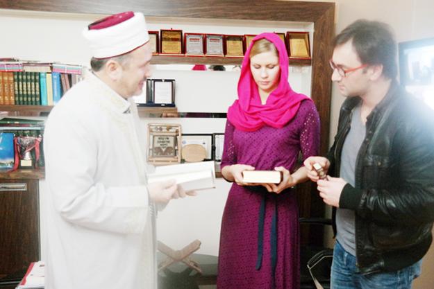 Rus gelin Beykoz'da Müslüman oldu