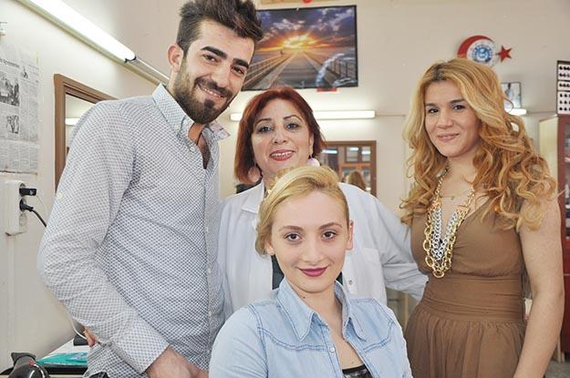 Türkiye ikincisi Batmanlı kuaför Beykoz'da ağırlandı