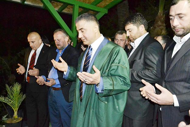 Sedat Peker Beykoz'dan Türkiye'yi sallıyor