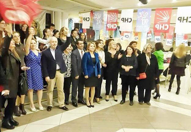 CHP'li kadınlar Beykoz'da eğlendi