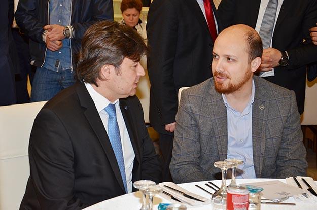 Bilal Erdoğan açılış için Beykoz'a geldi
