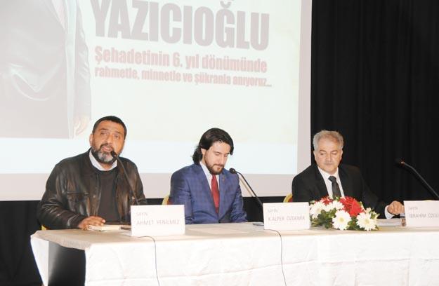 Yazıcıoğlu Beykoz'da unutulmadı
