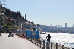 Beykoz Çubuklu Sahil Yolu Projesi başladı