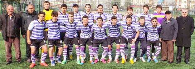 Çubukluspor U19, 6 golle şampiyon