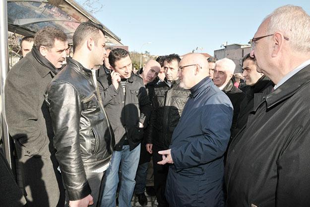 Beykoz Belediye Başkanı Çubuklu halkıyla hasbi hal etti