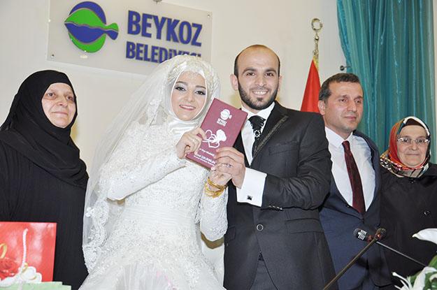 Karabacak Ailesi'nin mutlu günü