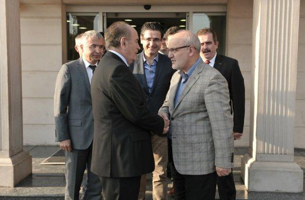 Başkan Çelikbilek ve Topbaş Ankara'da buluştu