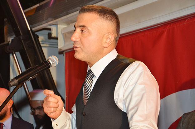 Sedat Peker, Beykoz'da Reisliğini gösterdi