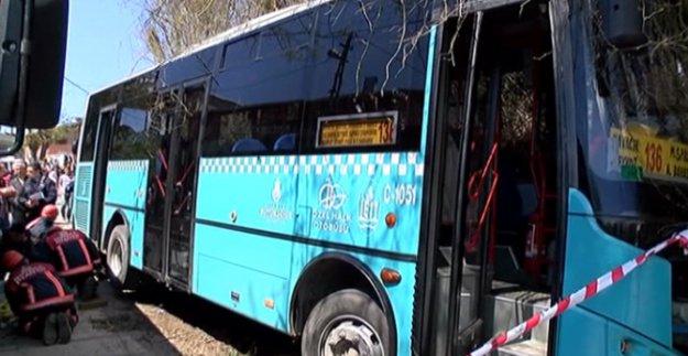 Beykoz'da yine kaza, yine ölüm, yine halk otobüsü