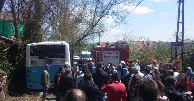 Beykoz'daki kaza nedeni cep telefonu mu? (İşte kaza anı)