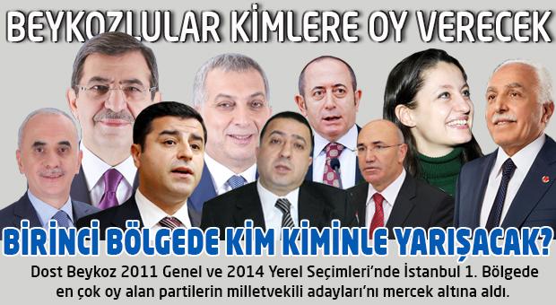 Beykozlular İstanbul'da kimlere oy verecek?