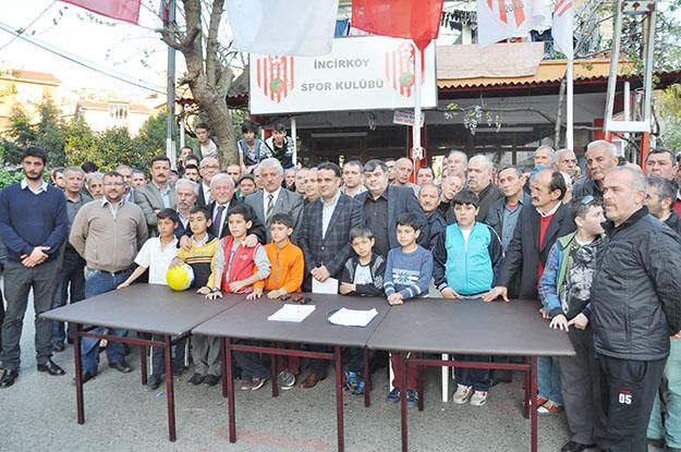 Beykoz'da İncirköy Spor Kulübü mühürlendi!