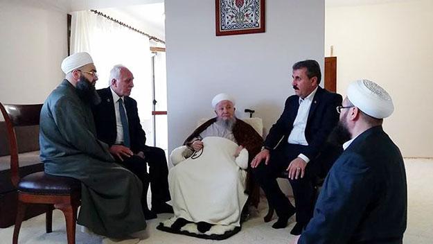 İttifak'tan Mahmut Efendi ziyareti