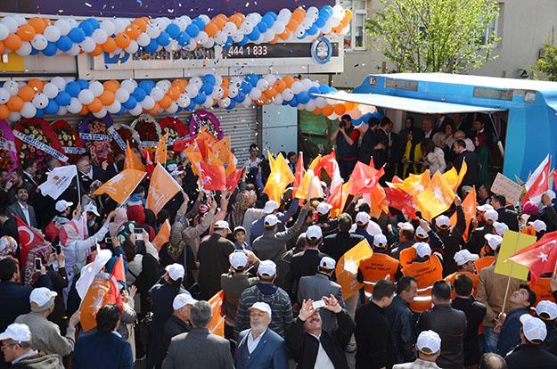 AK Parti Beykoz'da hedef: 93 bin vatandaşın teveccühü