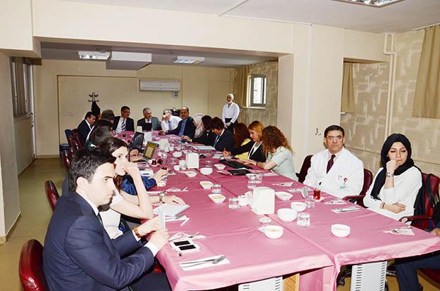 Beykoz Devlet Hastanesi'nde periyodik değerlendirme