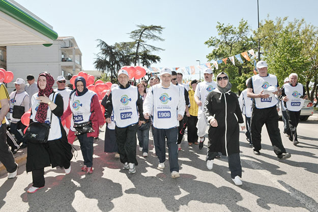 Beykoz'da 6. Geleneksel Halk Koşusu Coşkusu