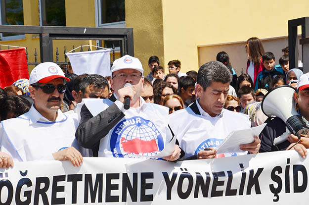 Beykoz'da eğitimciye şiddete şiddetli tepki
