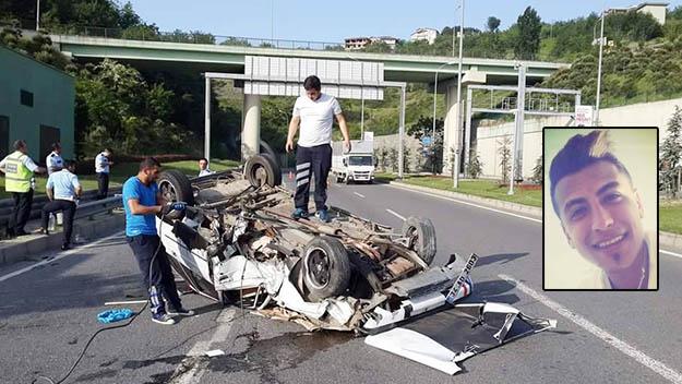 Beykoz korkunç kaza haberiyle sarsıldı