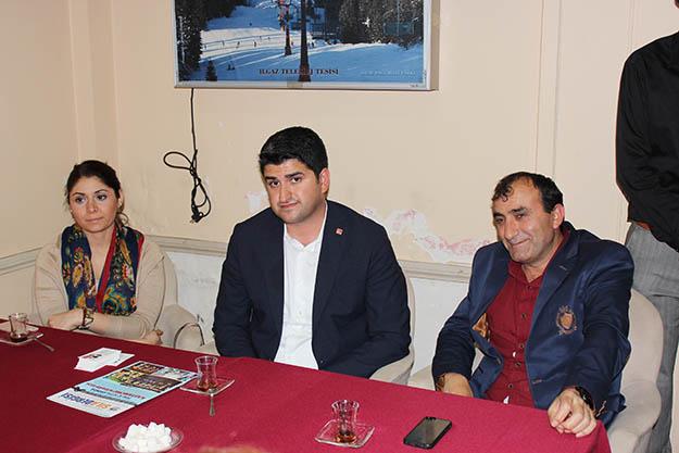 Beykozlu Kastamonulular, CHP adayı Adıgüzel'i ağırladı