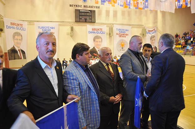 Beykoz'da AK Partililer yeniden AK Parti'ye katıldı