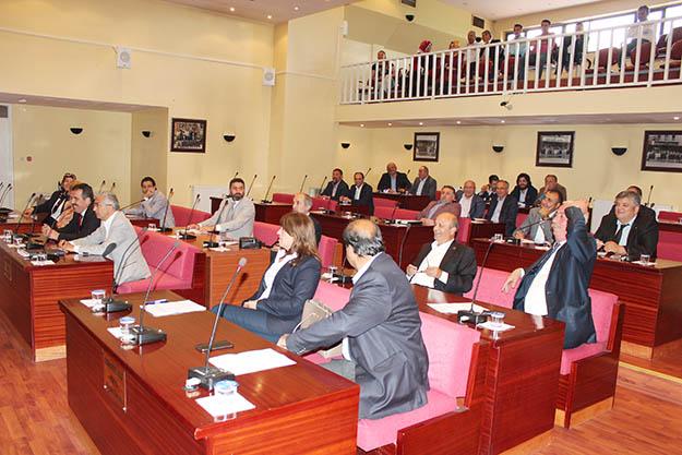 Beykoz Meclisi'nde neşeli dakikalar