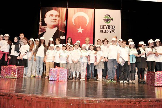 Beykoz'da yeşil okullara ödül