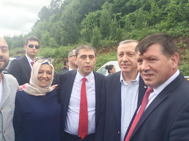 Cumhurbaşkanı Erdoğan, Beykoz'da sigara için durdu