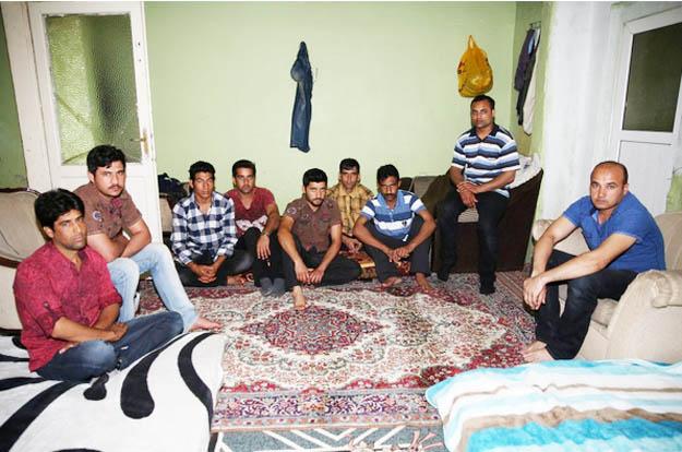 Beykoz'un pasaportsuz ve kimliksiz işçileri