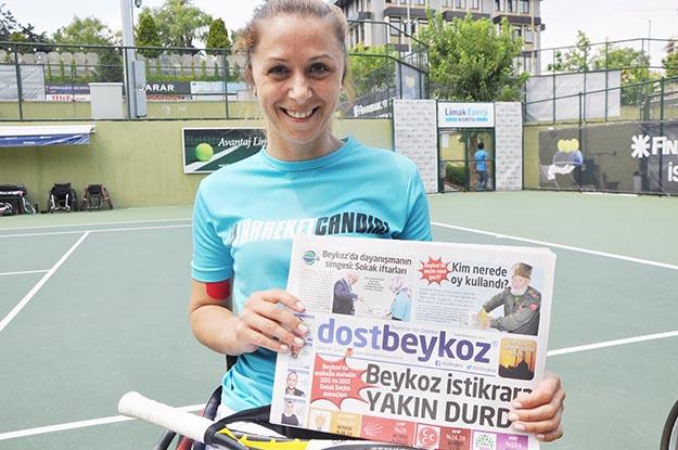 Beykoz'un gururu Ebru Bulgurcu