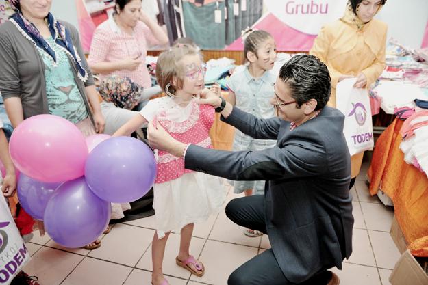 Beykoz'un çocukları için bayram hazırlığı