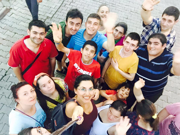 Beykoz'un özel sporcuları kampta