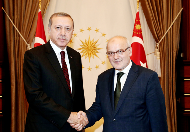 Çelikbilek, Cumhurbaşkanı Erdoğan'ı ziyaret etti