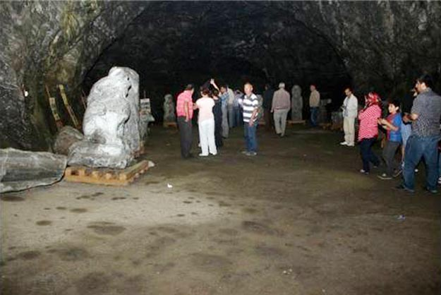 Beykoz'un Çankırılıları tuz mağarasına hayran kaldı