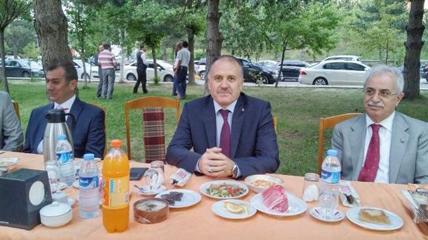Kaymakam Baba Erzurum'a veda etti