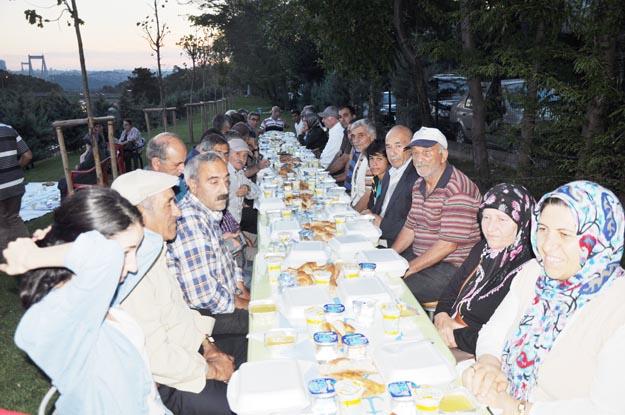 Beykoz'da her rengin Ramazan'ı...