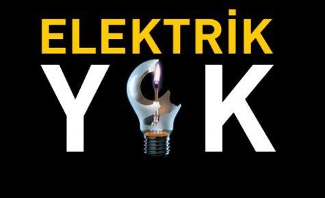 22 Temmuz'da yine elektrik yok