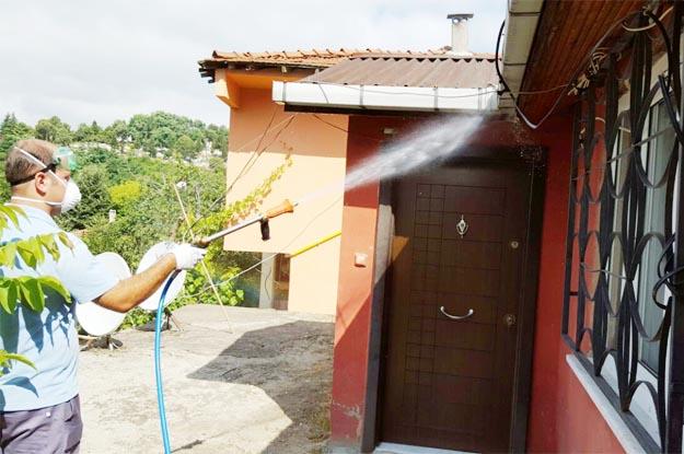 Beykoz'da sivrisinekle mücadele