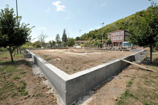 Beykoz'a 8 modern saha