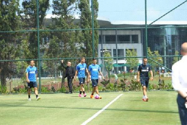 Inter, Beykoz Riva da idman yaptı
