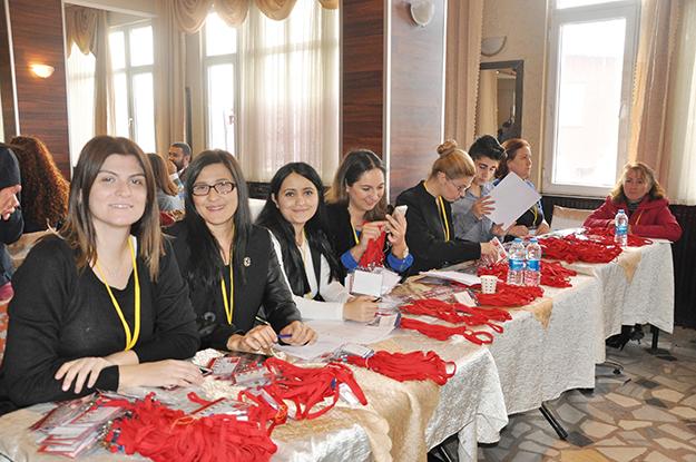 CHP Beykoz  üyeleri sandık başında