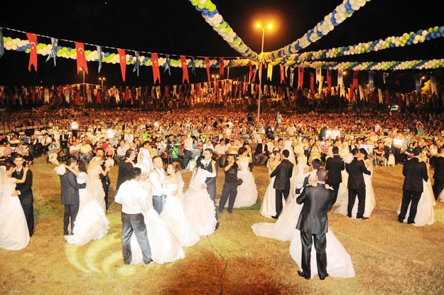 Beykoz'da toplu nikah töreni