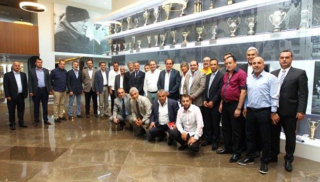 1. Lig Başkanları Riva'da buluştu