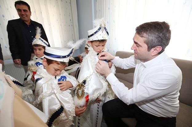 Selim Temurci ile Beykoz'da anlamlı sünnet töreni