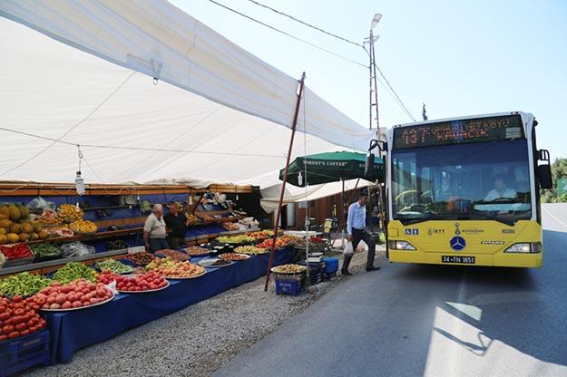 İETT'den Beykoz'un köylerine organik hat