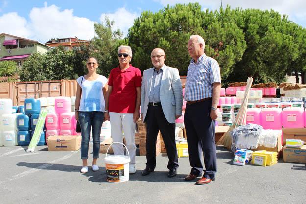 Beykoz'da okullar yine pırıl pırıl